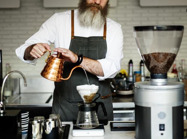 kahve zincirlerinde çalışın