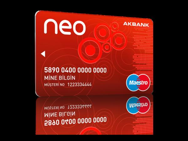 akbank neo kart özellikleri