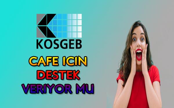 Cafe için devlet desteği