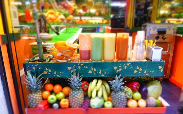 meyve suyu barı