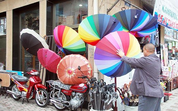 şemsiye satabilirsiniz