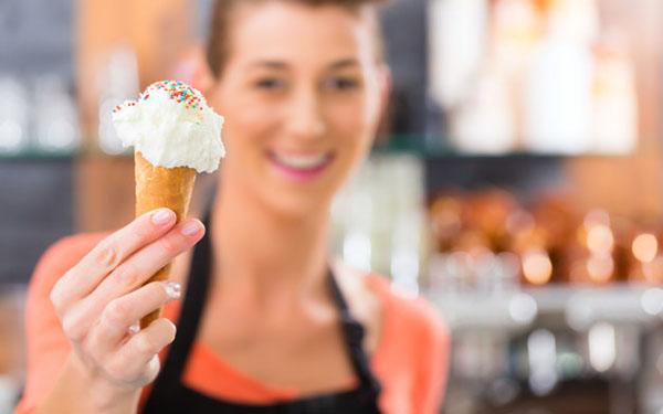 dondurma satmak
