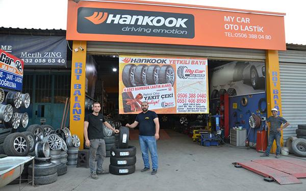 Hankook bayilik şartları